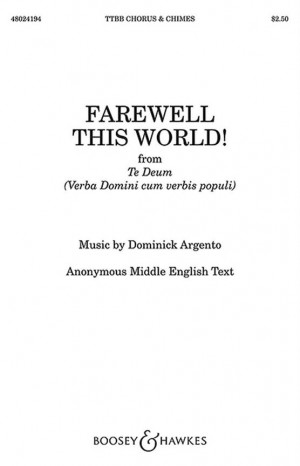 Argento, D: Farewell This World!
