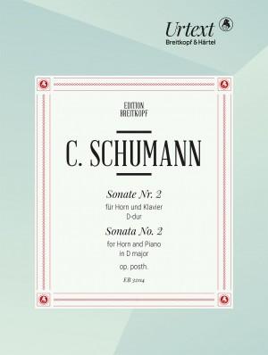 Camillo Schumann: Sonata No. 2 op. posth.