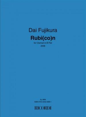 Dai Fujikura: Rubi(Co)N
