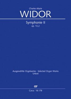 Widor: Symphonie No. II pour Orgue, op. 13/2