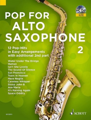 Pop For Alto Saxophone 2 Band 2 Product Image