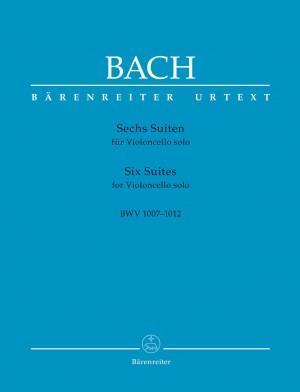Bach, Johann Sebastian: Six Suites for Violoncello solo BWV 1007-1012