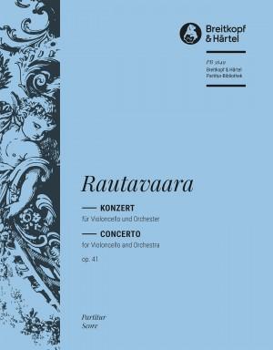Rautavaara: Violoncello Concerto No. 1 (Op. 41)
