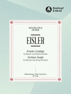 Hanns Eisler: Serious Songs