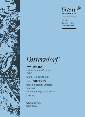 Karl Ditters von Dittersdorf: Double Bass Concerto in E major [D major] Krebs172
