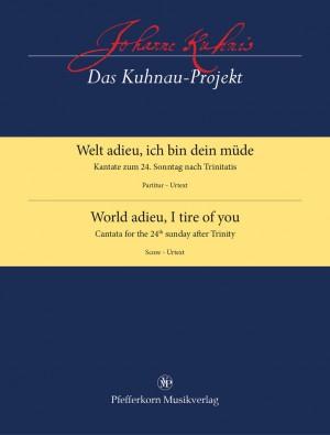 Johann Kuhnau: World Adieu, I Tire of You