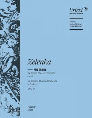 Jan Dismas Zelenka: Miserere in C minor ZWV 57