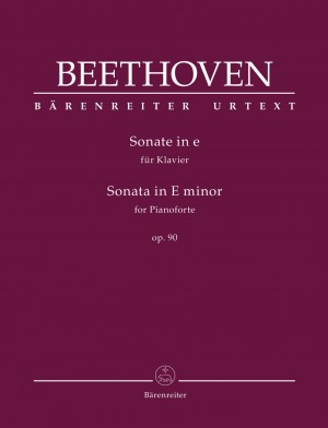 Beethoven, Ludwig van: Sonata for Pianoforte in E minor op. 90
