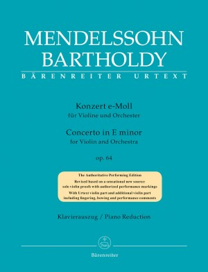 Mendelssohn, Felix: Concerto for Violin and Orchestra in E minor op. 64 Product Image