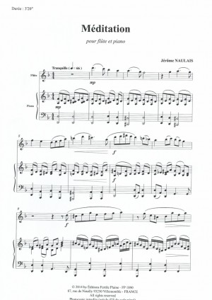 Woodwind » Flute, Naulais (composer) (page 9 of 19) | Presto