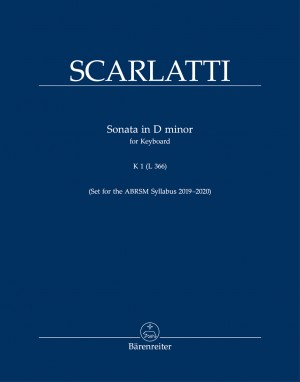 Scarlatti, Domenico: Sonata in D minor, Kp. 1, L. 366