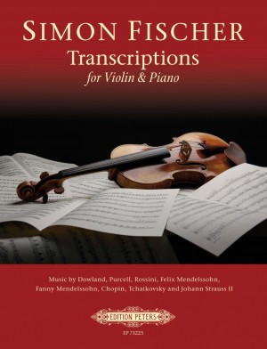 Simon Fischer: Transcriptions for Violin & Piano, Volume 1 Product Image