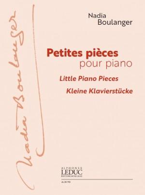 Nadia Boulanger: Petites Pièces Pour Piano