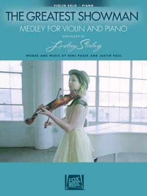 Benj Pasek_Justin Paul: The Greatest Showman - Medley For Violin & Piano