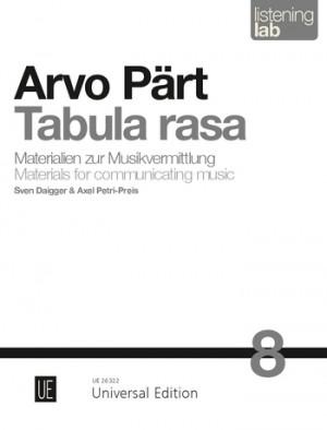 Arvo Pärt: Tabula rasa Band 8