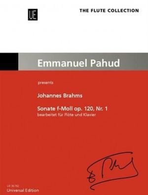 Brahms, J: Sonata op. 120/1