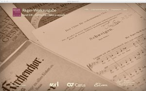 Reger, Max: Works for mixed voice unaccompanied choir I (1890–1902)