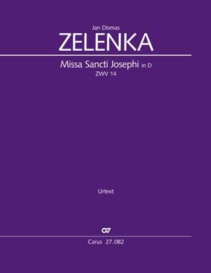 Zelenka, Jan Dismas: Missa Sancti Josephi, ZWV14