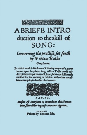 A Brief Introduction to the Skill of Song, Concerning the Practise Set Forth by William Blake, Gentleman, (Brief Introduction)