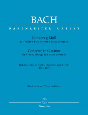 Bach, JS: Concerto for Violin, Strings and Basso Continuo G minor