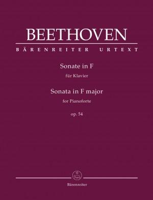 Beethoven, Ludwig van: Sonata for Pianoforte F major op. 54