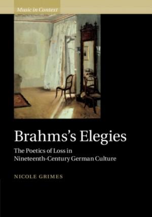 Brahms's Elegies