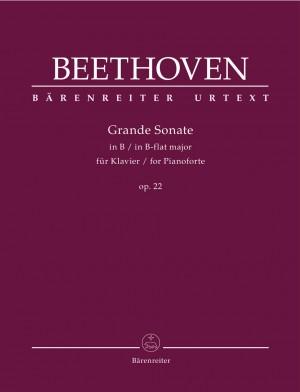 Beethoven, Ludwig van: Grande Sonate for Pianoforte in B-flat major op. 22