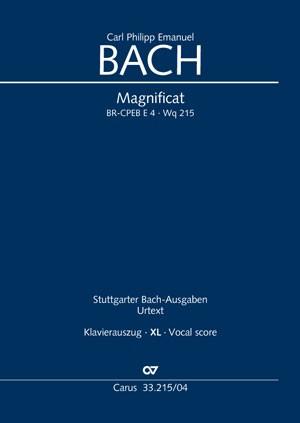 Bach, CPE: Magnificat BR-CPEB E 4 (Wq 215)