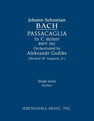 JS Bach: Passacaglia in C Minor, Bwv 582