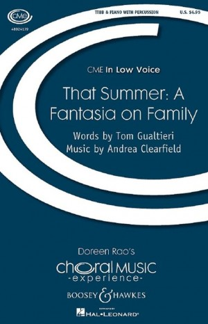 Clearfield, A: That Summer: A Fantasia on Family
