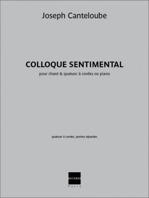 Joseph Canteloube: Colloque sentimental