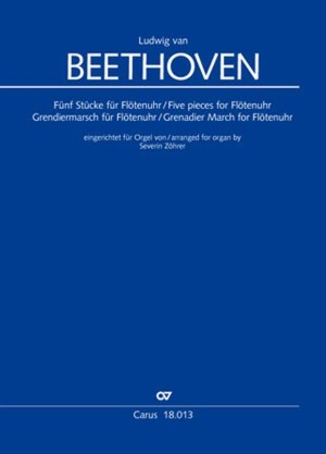 Beethoven: Five pieces for Flötenuhr, Grenadier March for Flötenuhr