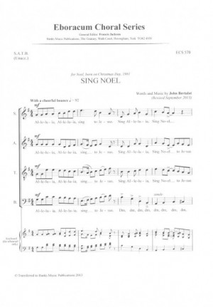 Bertalot: Sing Noel Product Image
