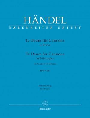 Händel, Georg Friedrich: Te Deum in B flat major HWV 281 Product Image