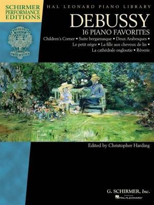 Claude Debussy: Debussy - 16 Piano Favorites