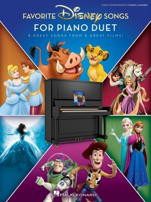 Favorite Disney Songs for Piano Duet Product Image