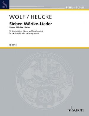 Wolf, H P J: Seven Mörike Lieder