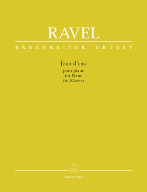 Ravel, Maurice: Jeux d'eau for Piano Product Image