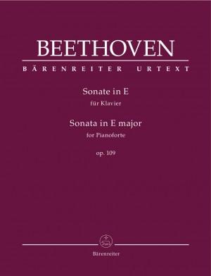 Beethoven, Ludwig van: Sonata for Pianoforte in E major op. 109
