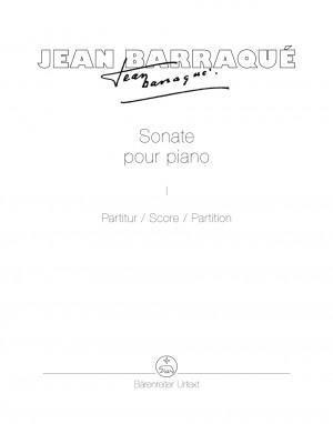 Barraqué, Jean: Sonate pour piano