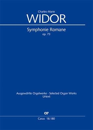 Widor: Symphonie Romane pour Orgue