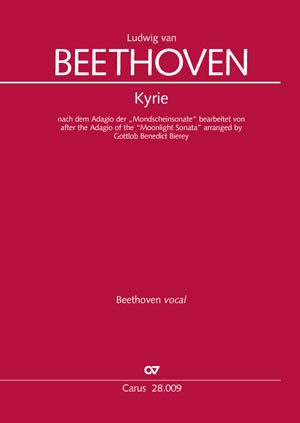 "Beethoven: Kyrie based on the Adagio of the ""Moonlight Sonata"""