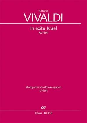 Vivaldi: In exitu Israel RV604