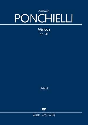 Ponchielli: Messa per la notte di natale, op. 20