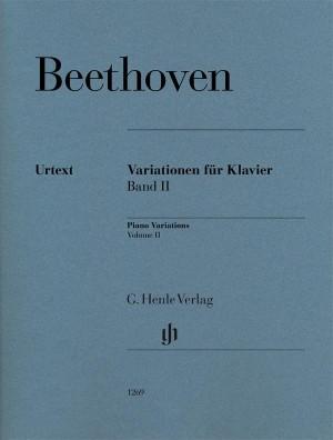 Beethoven, L v: Piano Variations Band II
