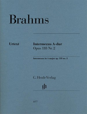 Brahms, J: Intermezzo A major op. 118 no. 2 Product Image