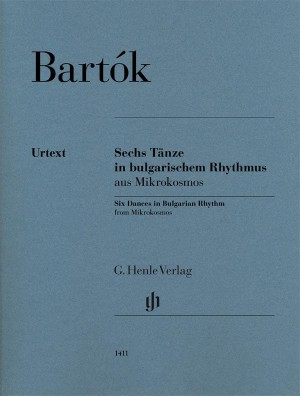Bartok, B: Six Dances in Bulgarian Rhythm Product Image