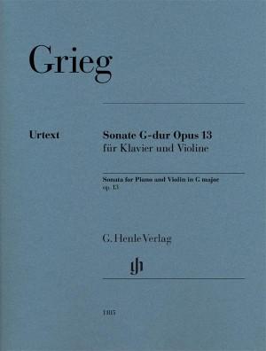 Grieg, E: Sonata G major op. 13 Product Image