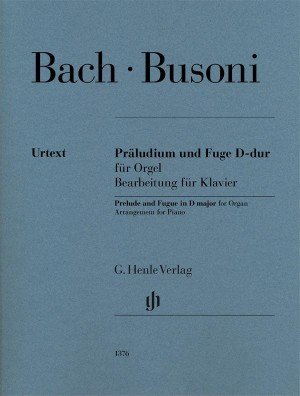 Bach/Busoni: Prelude and Fugue in D major