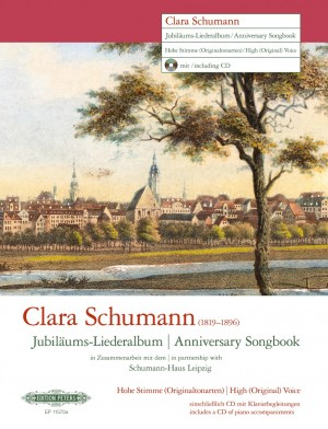 Clara Schumann: Anniversary Songbook (High Voice) Product Image